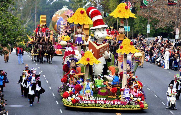 Festival Bunga dan Festival Kendaraan Mewarnai Festival Pasadena yang Diselenggarakan Setiap Tahun
