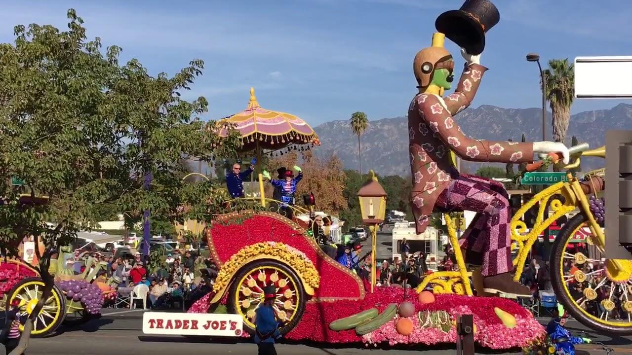 Kemeriahan Festival Bunga Mawar pada Festival Pasadena